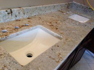 Colonial Cream Vanity Granite America Granite Countertop