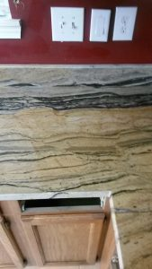 Awesome Seam in Granite